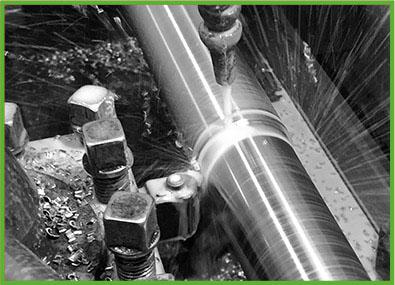 Toczenie stali CNC, dna sitowe